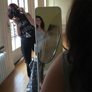 Behind the scenes shoot Dayenne 3