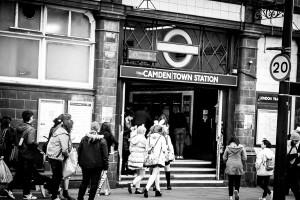 Camden Town station London