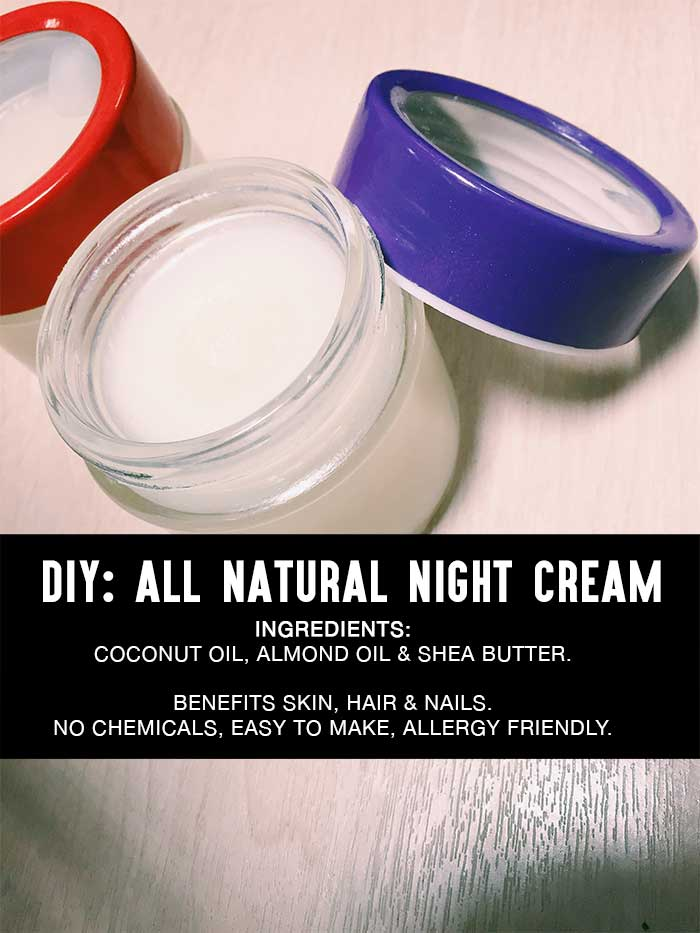diy natural night cream