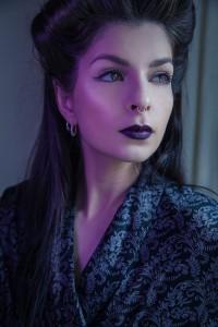 the sorceress - purple light